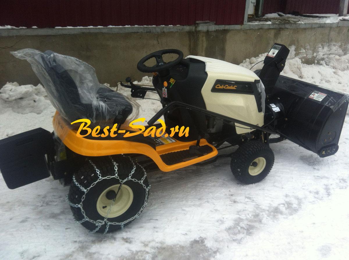 Cub Cadet Ltx 1045 Accessories : Садовый трактор cub cadet ltx snow blower
